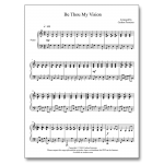 Be Thou My Vision - Sheet Music - Arrangement by Carlton Forrester