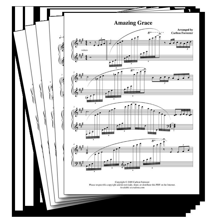 Sheet Music Bundle #1