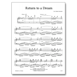 Return to a Dream - Sheet Music - Arrangement by Carlton Forrester