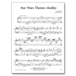 Star Wars Themes Medley - Sheet Music - Arrangement by Carlton Forrester