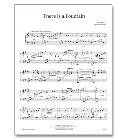 There is a Fountain - Sheet Music - Arrangement by Carlton Forrester