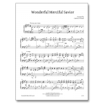 Wonderful Merciful Savior - Sheet Music - Arrangement by Carlton Forrester